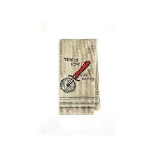 Cutting Carbs Dishtowel Novelty Gifts $13.99
