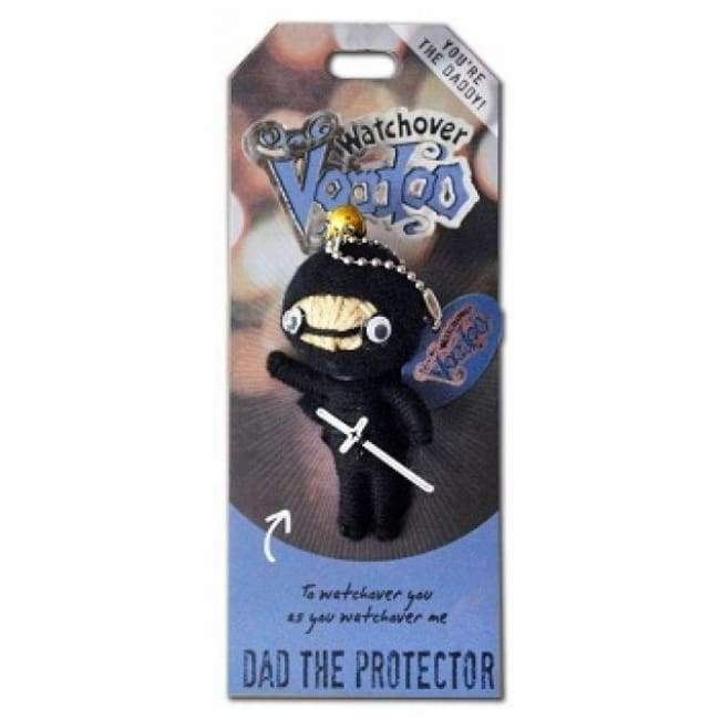 Dad The Protector Watchover Voodoo Doll Gifts $10.99
