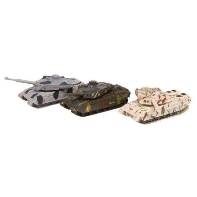 Die-cast Tank With Sound Toys $11.95
