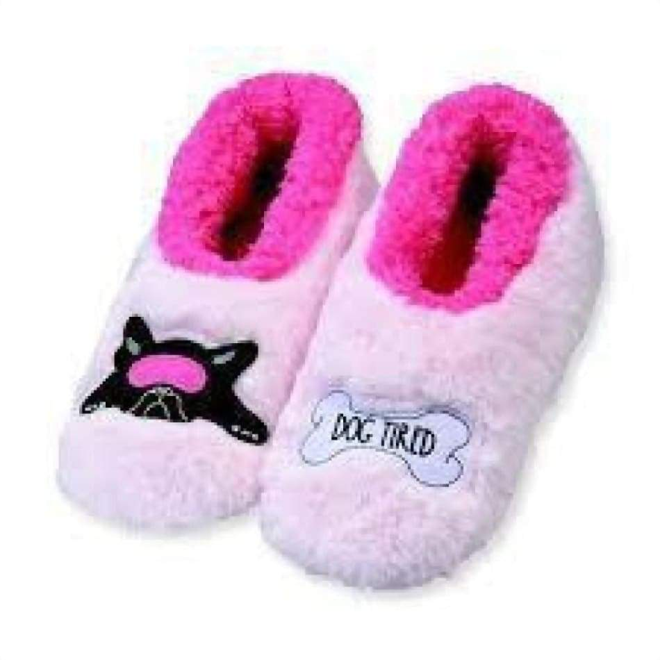 Dog Tired Snoozies Sleepers Foot Covering For Womens Footwear $15.99