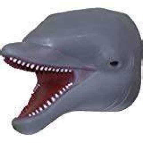 Dolphin Rubber Hand Puppets Toys $8.99