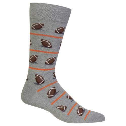Football Crew Novelty Socks For Men Footwear $12.99