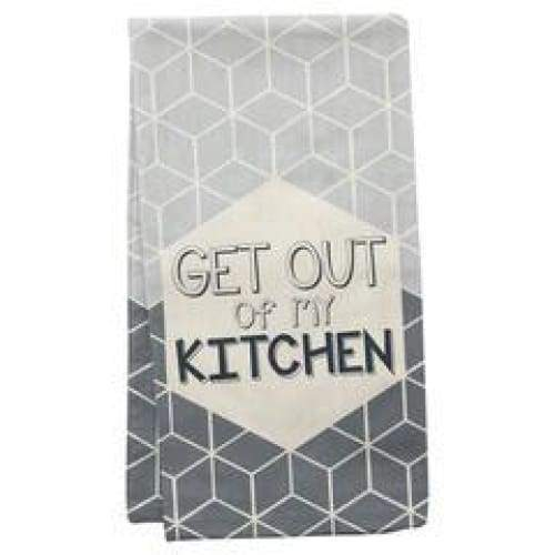 Get Out Dishtowel Novelty Gifts $12.99