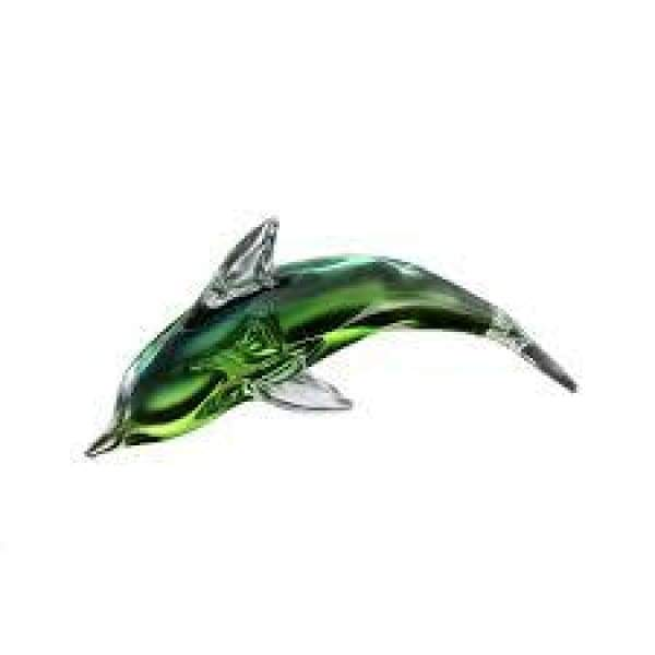 Glass Dolphin 8 Home & Decor $14.99