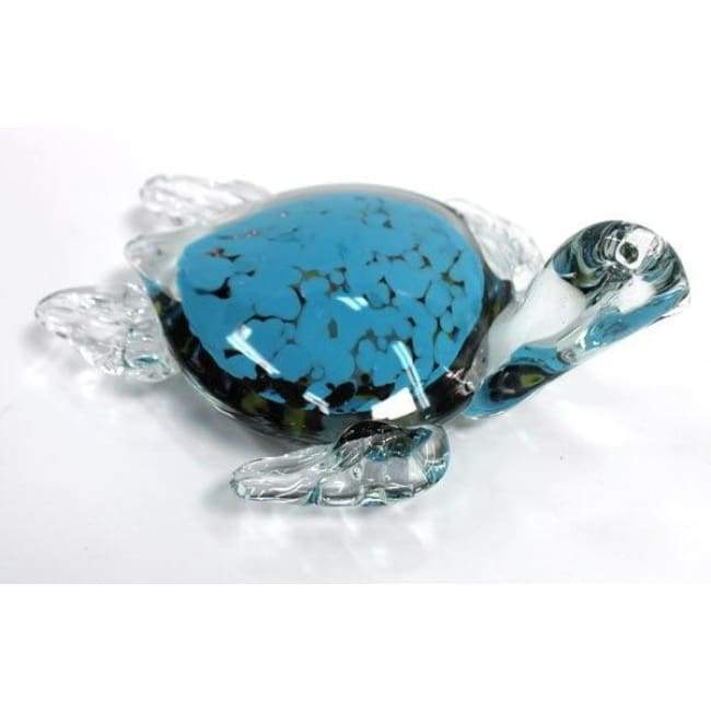 Glass Turtle 6.5 Home & Decor $16.99