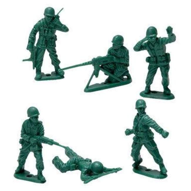 Green Army Toy Slodiers Set Made Of Durable Plastic Toys $8.99