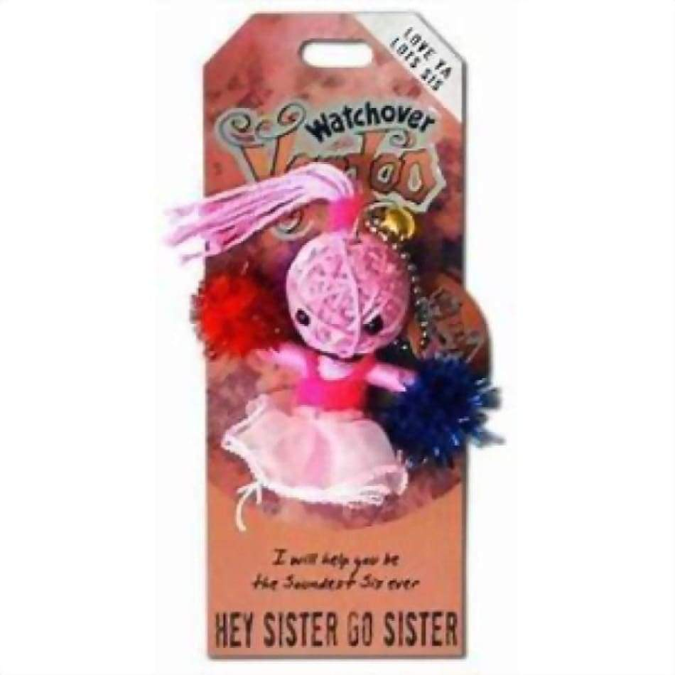 Hey Sister Go Watchover Voodoo Doll Gifts $10.99