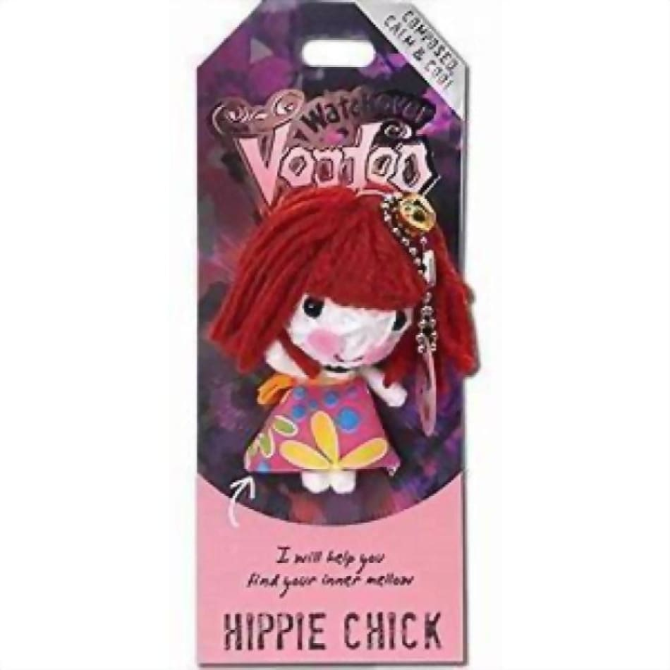Hippie Chick Watchover Voodoo Doll Gifts $10.99