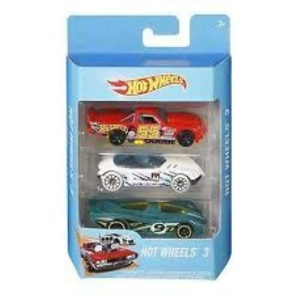 Hot Wheels 3 Pack Assorted Toys $9.99