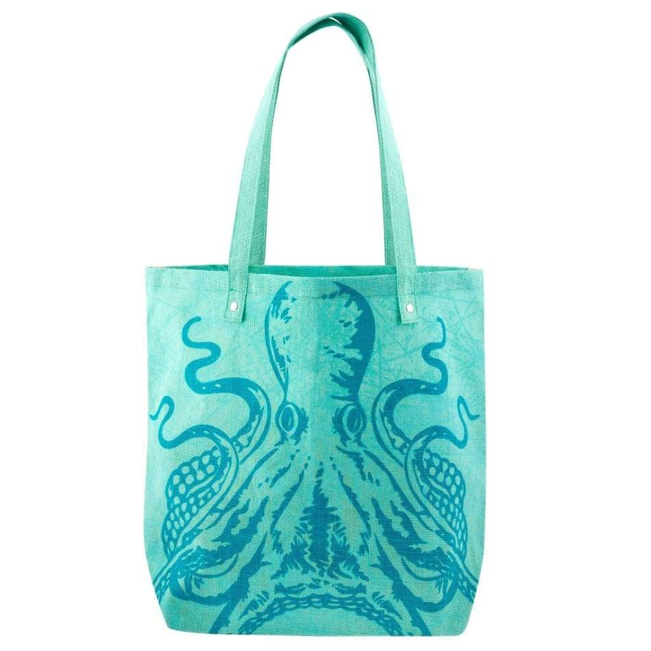 Jute Tote Octopus General Merchandise $19.99