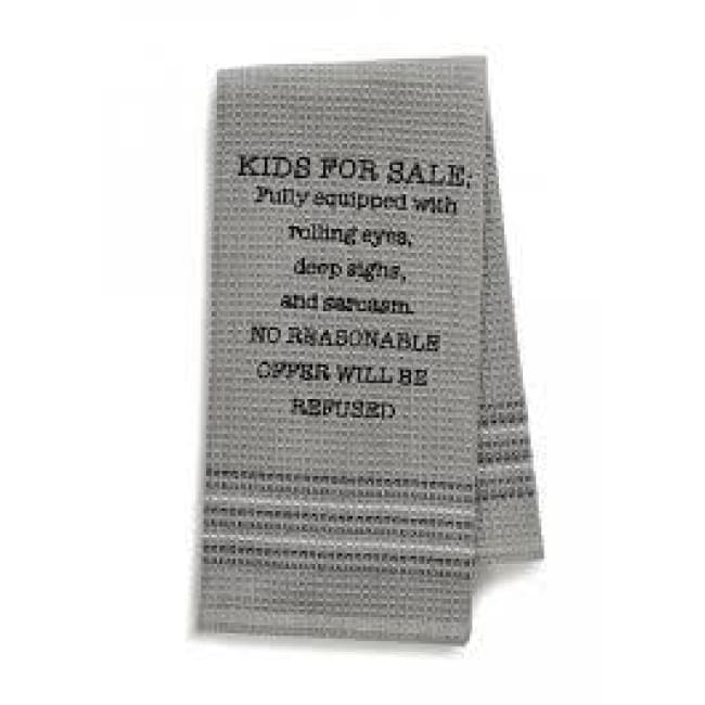 Kids For Sale Dishtowel Novelty Gifts $12.99