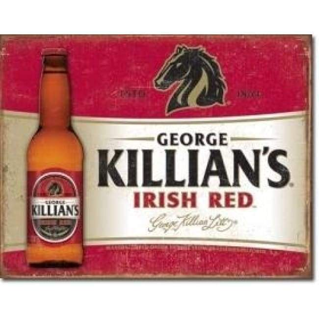 Killians Red Tin Sign Home & Decor $11.95