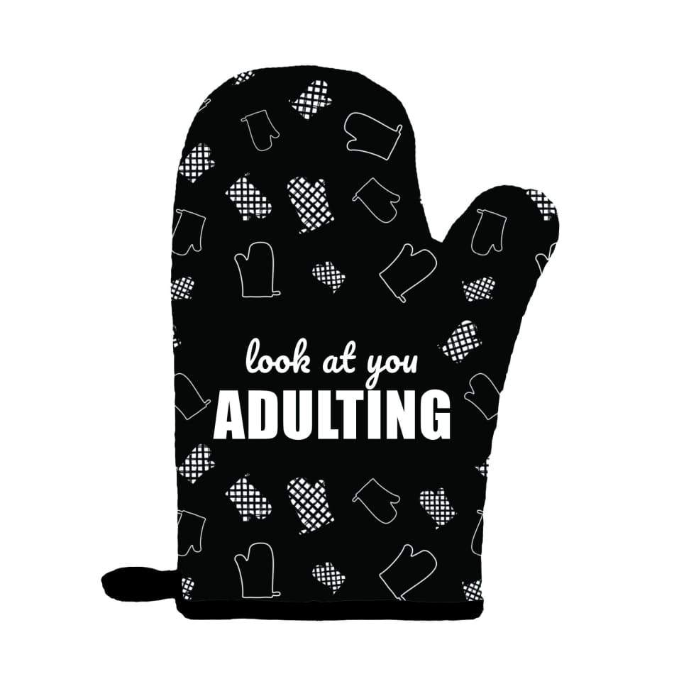 Look At You Adulting Oven Mitt Gifts $14.99