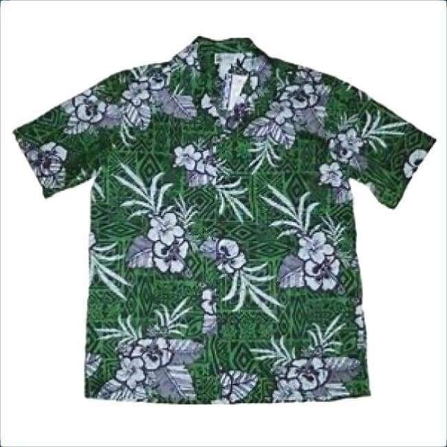 Mens Irish Green Hawaiian Shirt Apparel $39.99