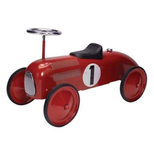 Metal Red Race Car Speedster Toys $139.99