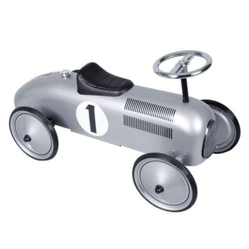 Metal Silver Race Car Speedster Toys $139.99