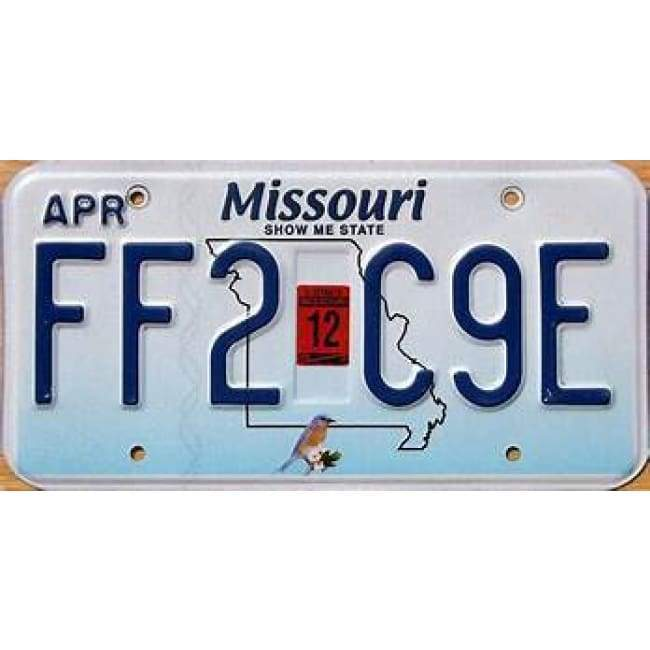 Missouri Genuine License Plate Home & Decor $14.99