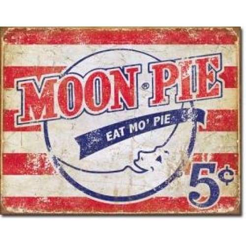Moon Pie American Tin Sign Home & Decor $11.95