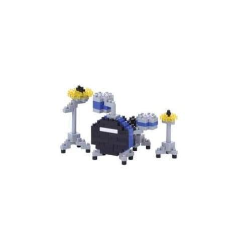 Nanoblock Drum Set Blue Toys $12.99