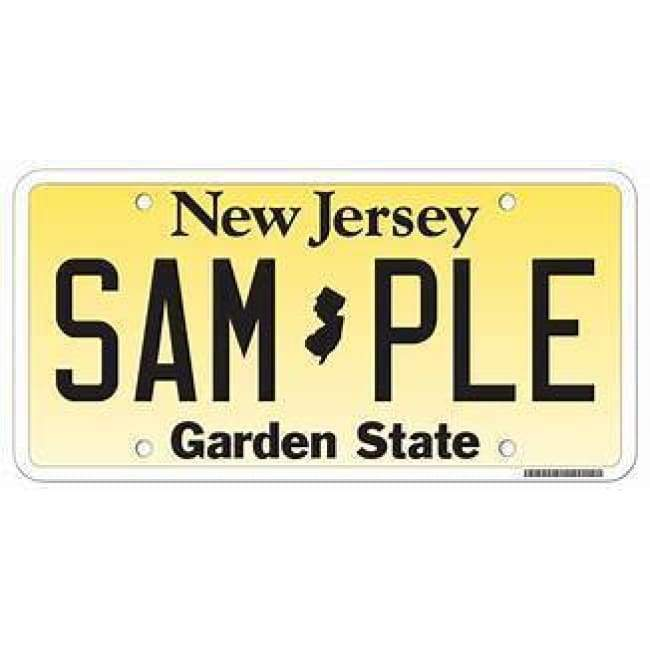 New Jersey Genuine License Plate Home & Decor $18.99