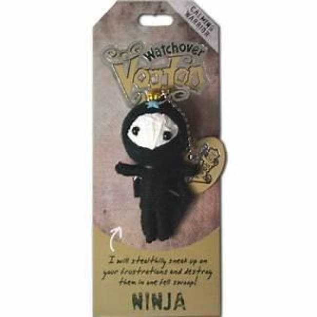 Ninja Watchover Voodoo Doll Gifts $10.99