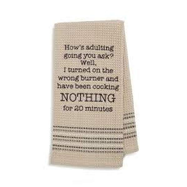 Nothing Dishtowel Novelty Gifts $12.99