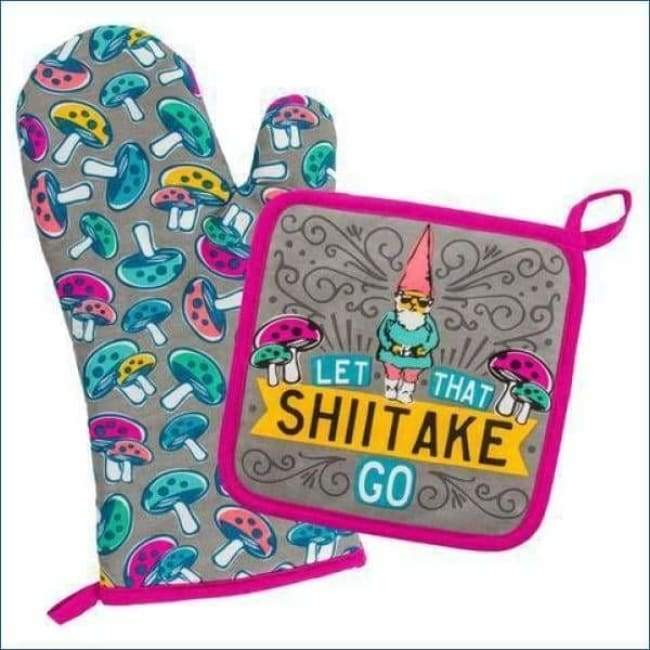 Oven Mitt & Pot Holder Gnome Gifts $19.99