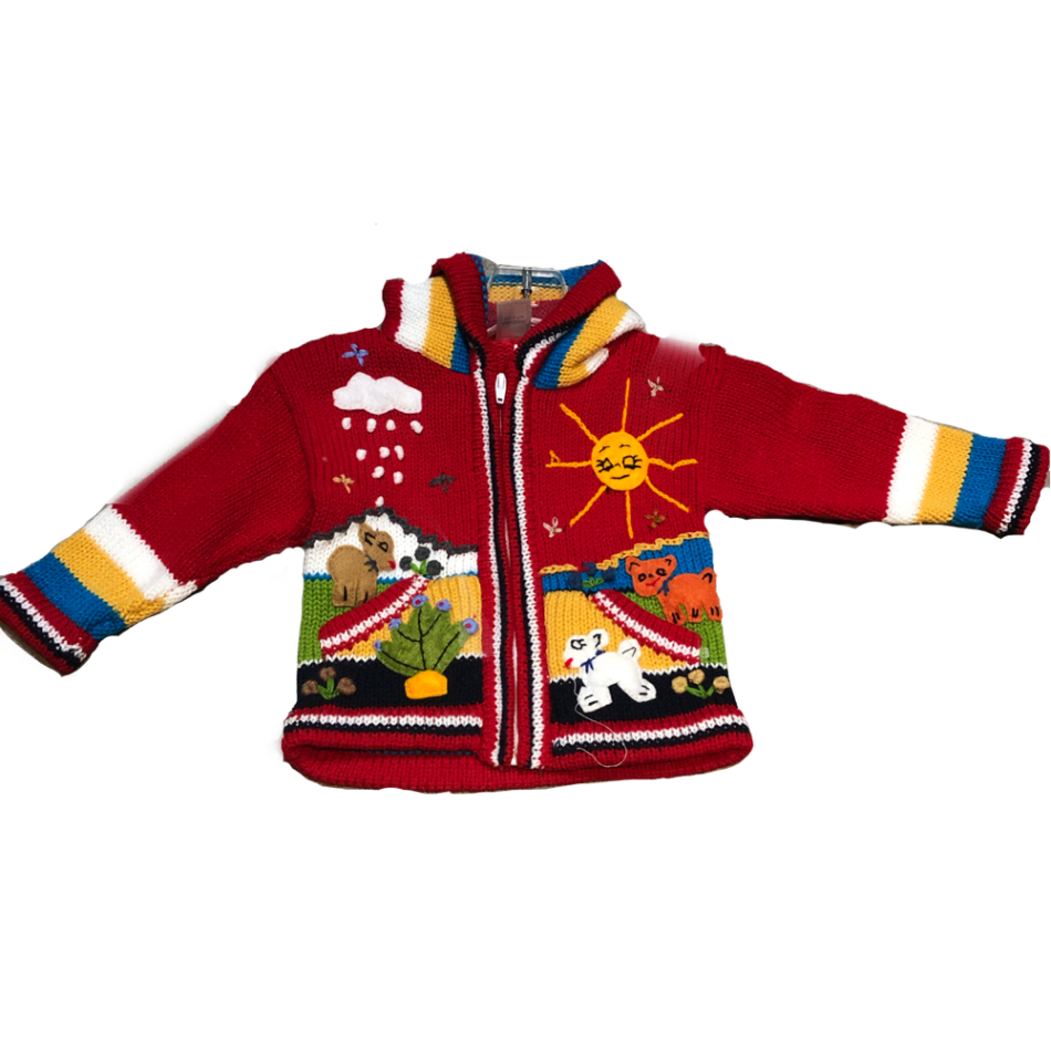 Peruvian Kids Jacket Apparel $29.99