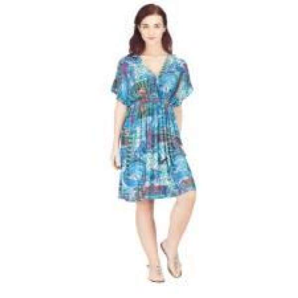 Poly Kimono Dress Plus Size Apparel $26.99