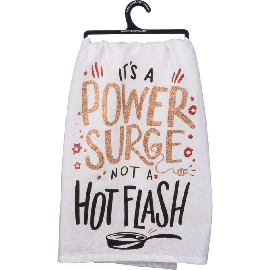 Power Surge Dishtowel Novelty Gifts $12.99