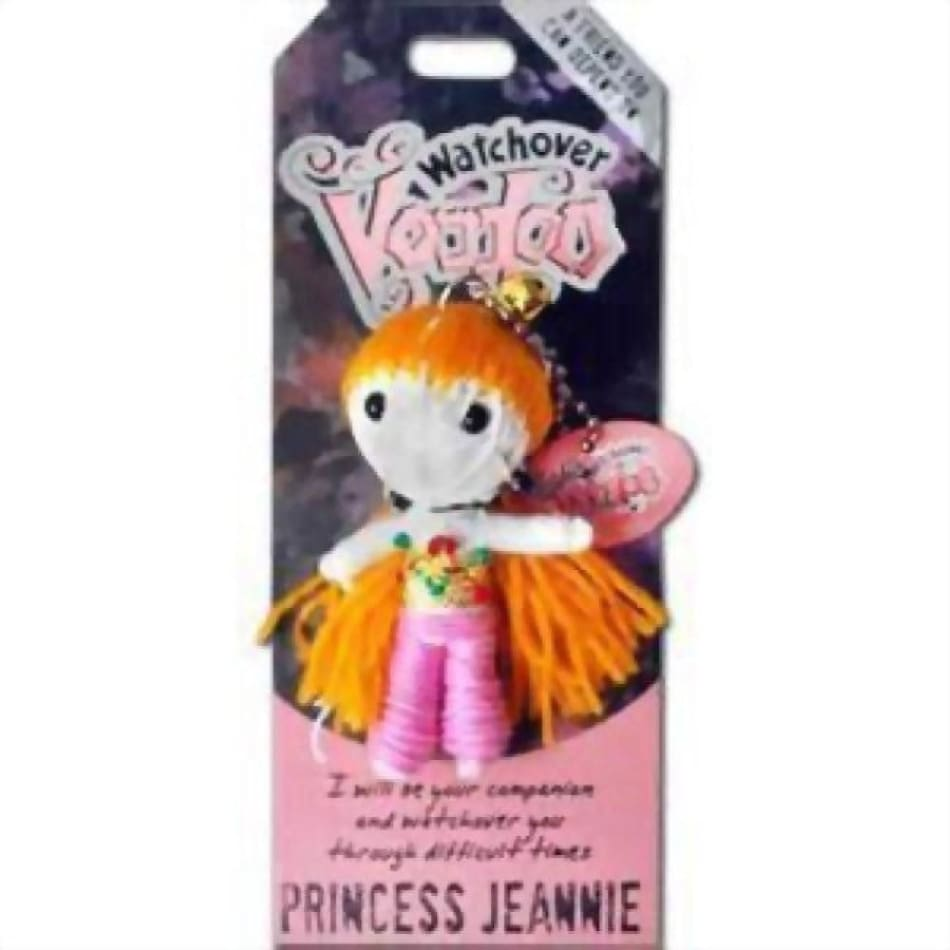 Princess Jeannie Watchover Voodoo Doll Gifts $10.99