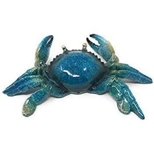 Resin Blue Crab Figurine Home & Decor $16.99