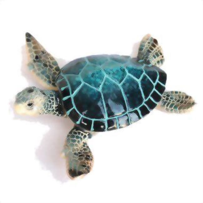 Resin Sea Turtle Figurine 4.25 Home & Decor $9.99