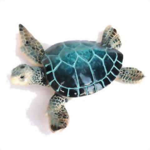 Resin Sea Turtle Figurine 4.25 Home & Decor $8.99