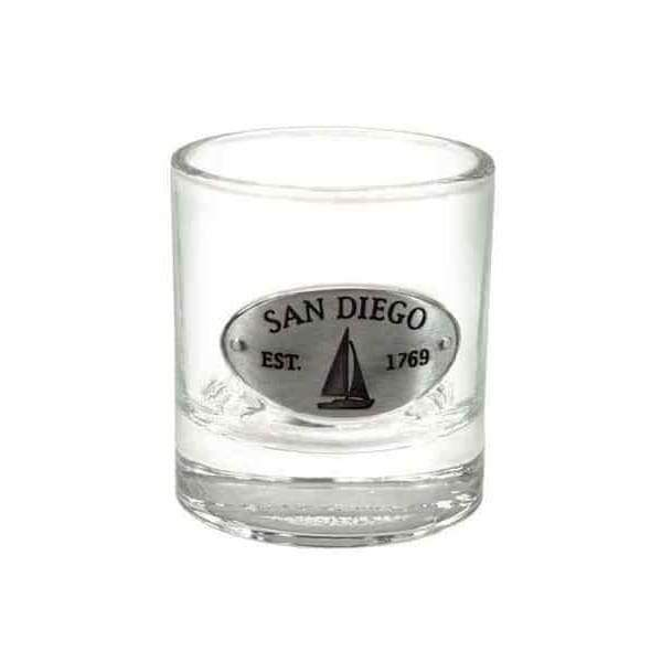 San Diego Medallion Shot Glass General Merchandise $9.99