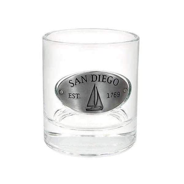 San Diego Whiskey Glass General Merchandise $16.99