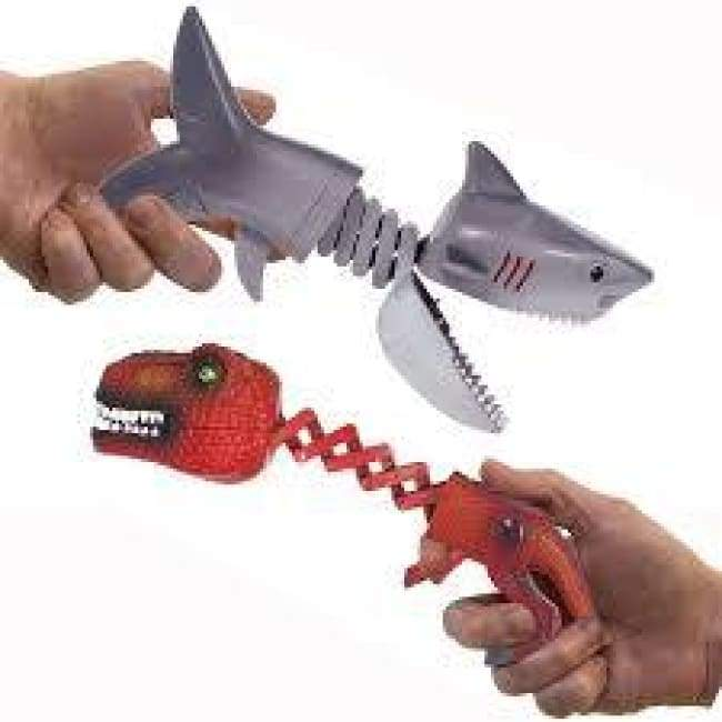 Shark Vs Dino Chompers Toys $8.99