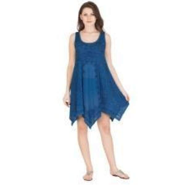 Short Handkerchief Dress Apparel $29.99