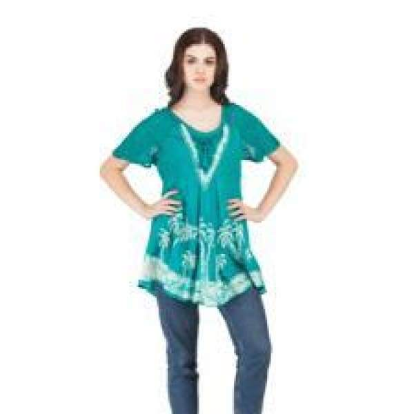 Short Sleeve Tunic Apparel $24.99
