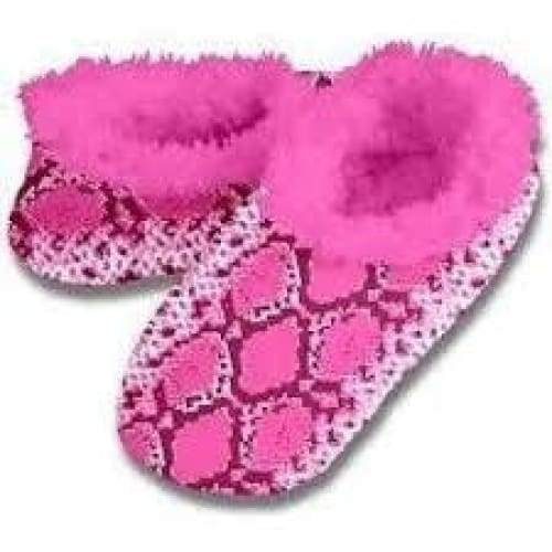 Snakeskin Snoozies Slippers Foot Covering For Womens Footwear $12.99