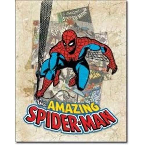 Spiderman Cover Tin Sign Home & Decor $11.95