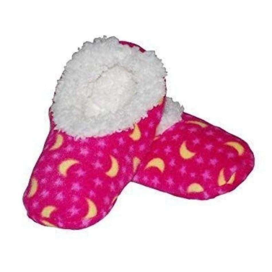 Stars & Moon Pink Snoozies Slippers Foot Covering For woman Footwear $9.99