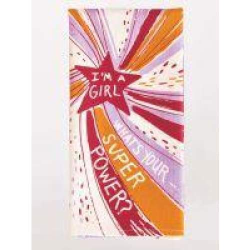Super Power Dishtowel Gifts $12.99