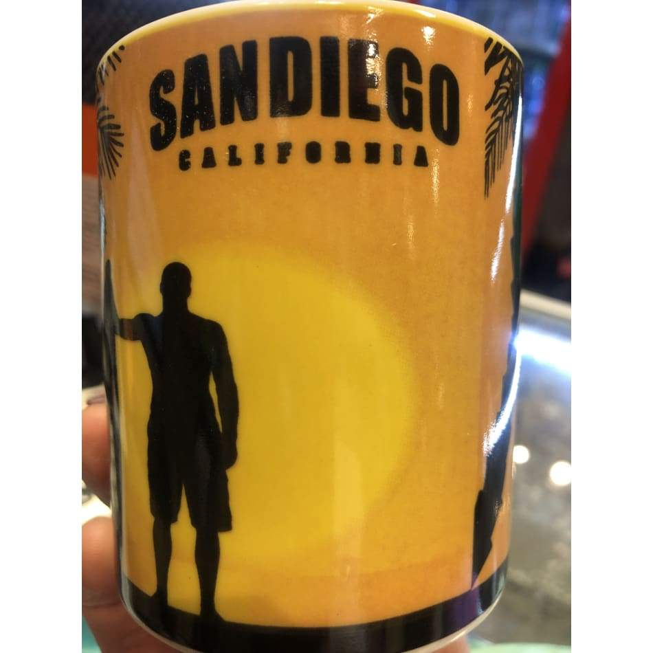 Surfer San Diego Mug General Merchandise $7.99