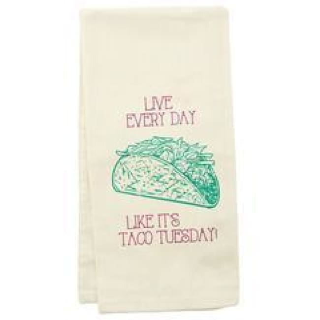 Taco Tuesday Dishtowel Gifts $12.99