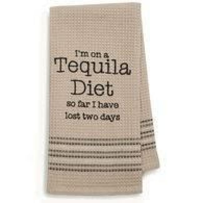 Tequila Dishtowel Novelty Gifts $12.99