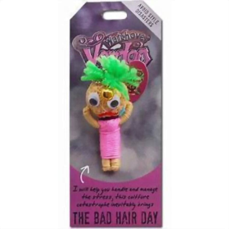 The Bad Hair Day Watchover Voodoo Doll Gifts $10.99