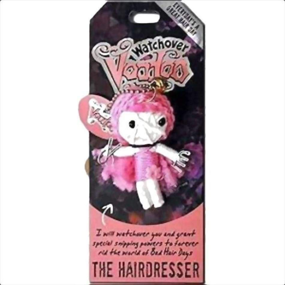 The Hiardresser Watchover Voodoo Doll Gifts $10.99