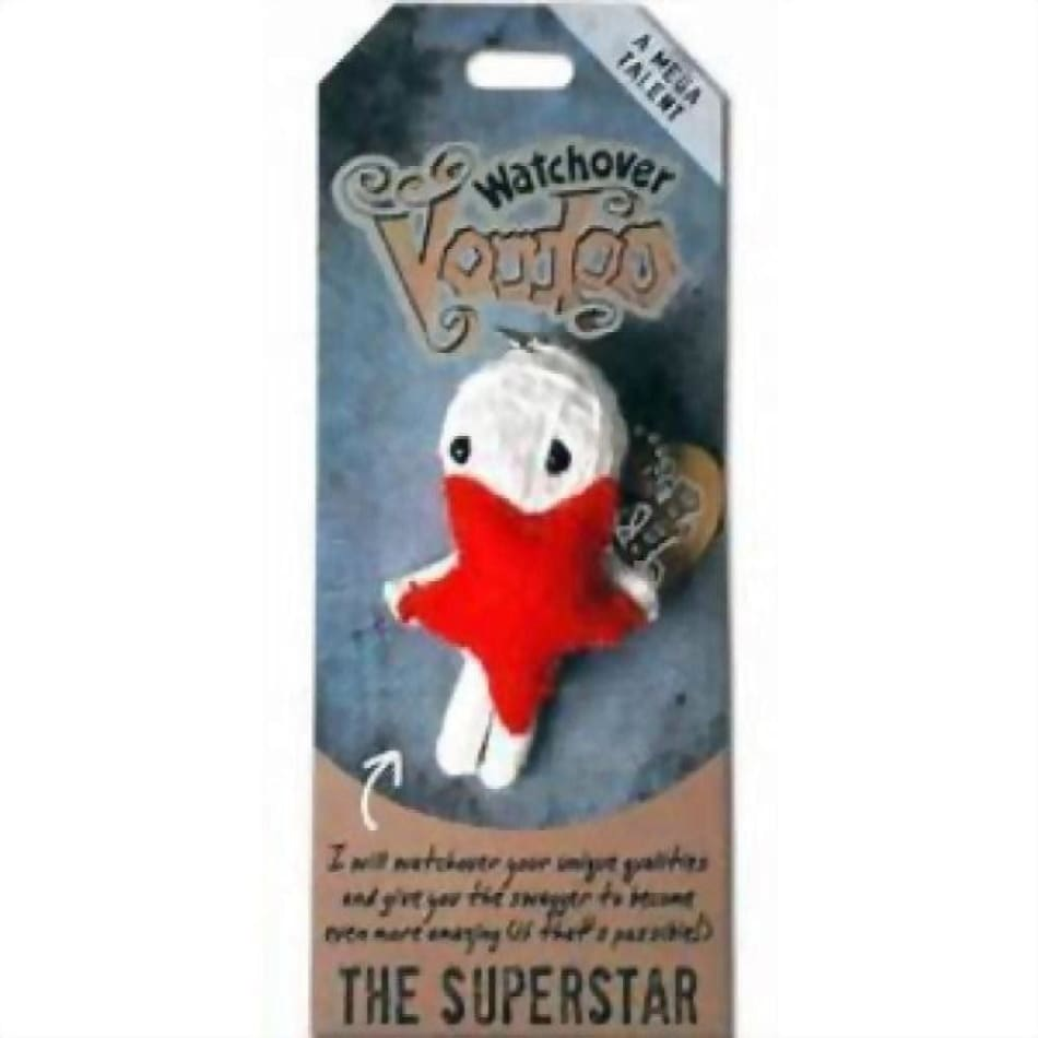 The Superstar Watchover Voodoo Doll Gifts $10.99
