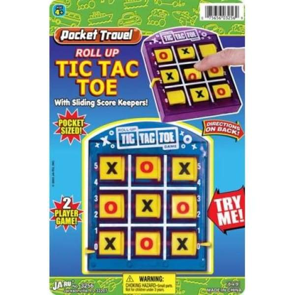 Tic Tac Toe Pocket Game Toys $6.99